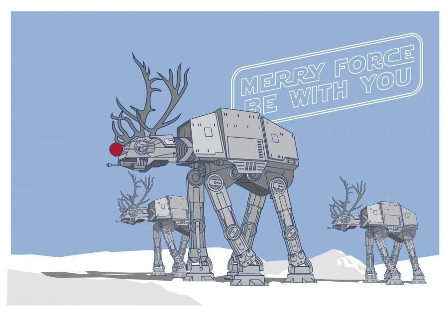 star-wars-Christmas-Card-at-at-merry-force