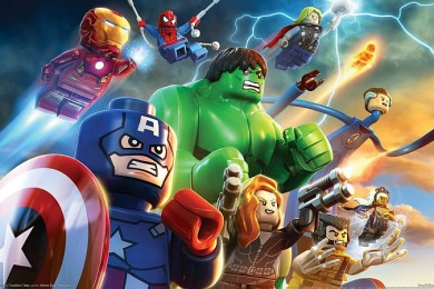 LEGO Marvel Super Heroes Wallpaper