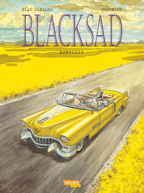 Blacksad –  Amarillo Cover
