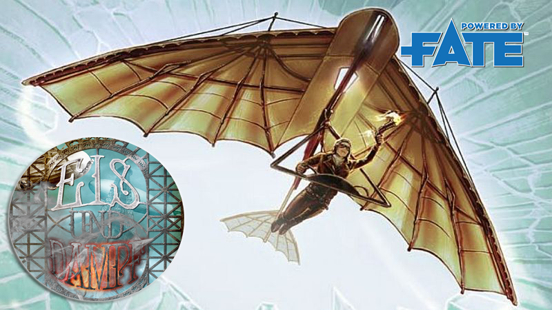Eis & Dampf – Steampunk-Rollenspiel für Fate
