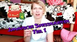Japanische Süßigkeiten im Video-Test #1