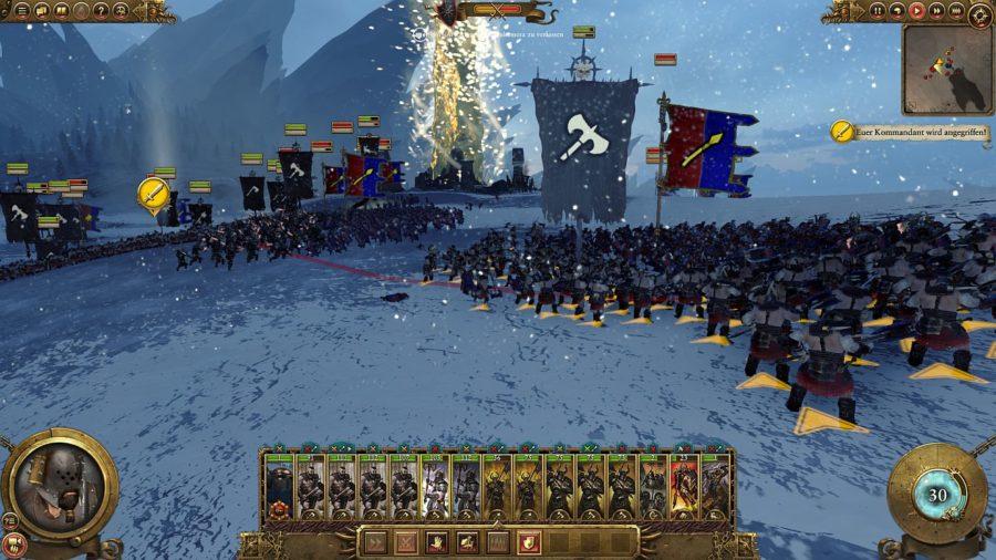 Chaoskrieger in der Schlacht