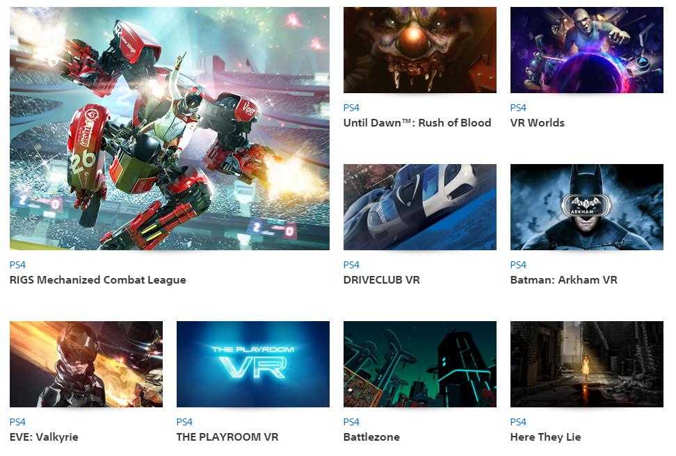 Unter den zwanzig Spielen finden auch Batman und Unitl Drawn™ ihren Platz in der VR-Auswahl.