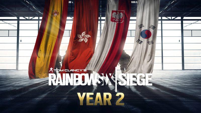 Year-2 Pass für Rainbow Six: Siege ab sofort verfügbar!