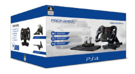 Neues PlayStation 4 Pace Wheel Lenkrad ab sofort erhältlich!