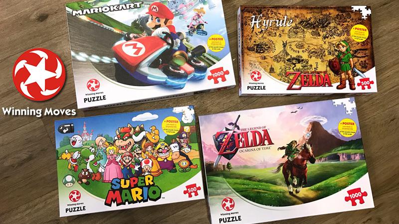 Super Mario, Puzzle, Zelda