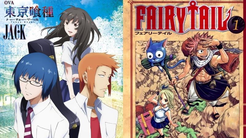 Tokyo Ghoul und Fairy Tail in Deutschland