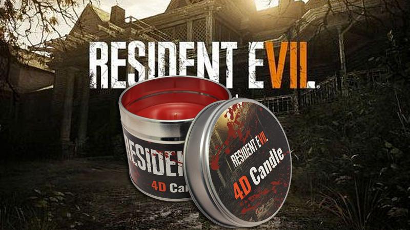 Resident Evil VII mit 4D-Kerze!