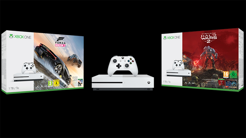 Halo Wars 2 und Forza Horizon 3 im Xbox One Bundle