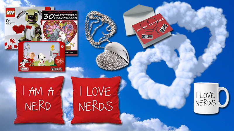 Die TOP Valentinstagsgeschenke für NERDS