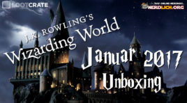 Unboxing – Wizarding World #2 von Lootcrate