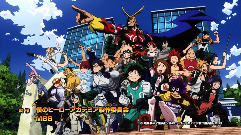 2. Staffel von My Hero Academia ab April auf Anime on Demand