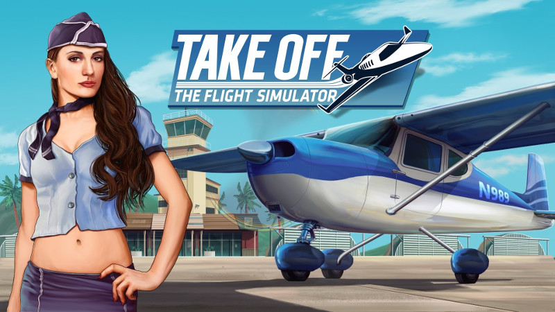 Neuer DLC zu Take Off – The Flight Simulator