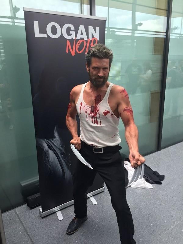 Lucky Logan sieht dem echten zum verwechseln ähnlich