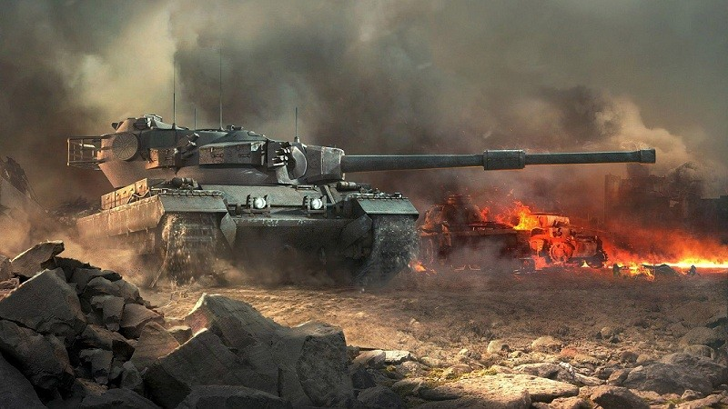 World of Tanks zum Lesen!