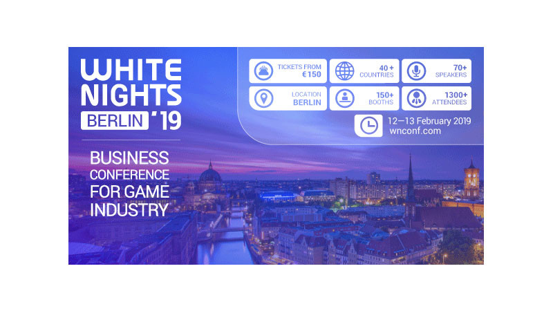 Die White Night Spielekonferenz erstmalig in  Berlin