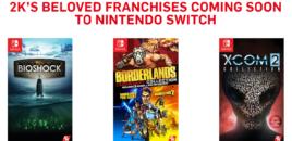 Nintendo Switch: Drei 2K-Sammlungen angekündigt